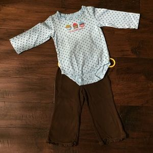 Carter's fall / winter outfit, 18-24 months